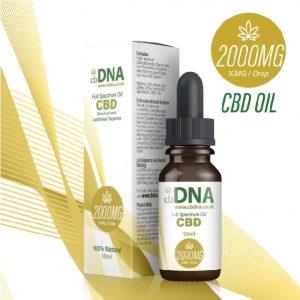cbDNA 2000MG CBD Oil