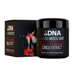 cbDNA 300MG CBD Chilli Muscle Rub 01