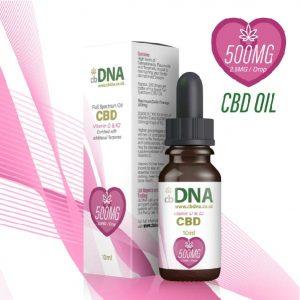 cbDNA 500mg CBD Oil Vitamin D