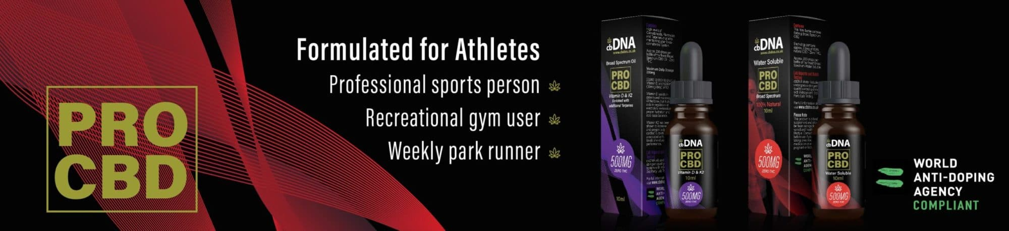 CBD Gym Fitness Oil