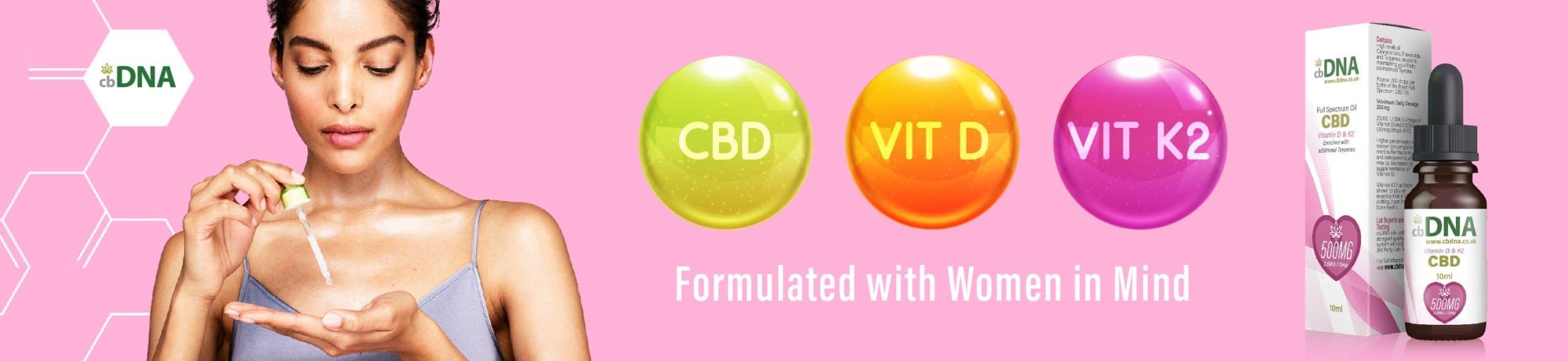 CBD Women Vitamins